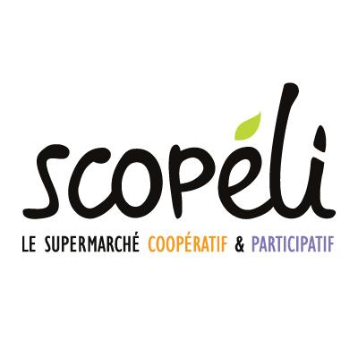 Logo du premier supermarché coopératif et participatif de la région nantaise Scopéli